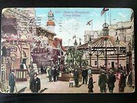 Vintage Postcard>1911>Scene in Dreamland>Coney Island>New York