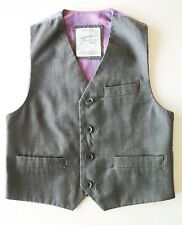 Grey Waistcoat Occasion Wear & Accessories for Boys