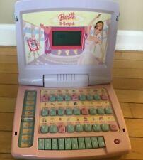 Barbie B-Bright Laptop Mattel Girls Kid Computer Games Learning Dolls Fun Pink