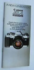 Photography Reference Guide For The New Generation Canon Al-1 Quick Focus