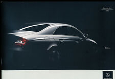 2006 Mercedes Benz 44-page Car Sales Brochure - CL500 C55 AMG CLS500 E500 S55