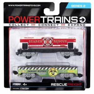 Power Trains Series 2 Freight 2 Car Pack - Rescue Freight