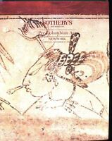 Sothebys Auction Catalog Nov 23 1992 Pre-Columbian Art Maya Olmec