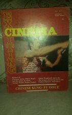 Bruce lee,exiciting  cinema  vol 3 no 2. 1974.rare last one I have.buy now.