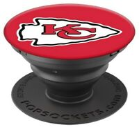 Popsockets NFL Kansas City Chiefs Cell Phone PopGrip Swappable for Phones Tablet