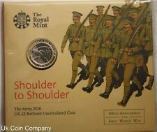 2016 Royal Mint First World War £2 Brilliant Uncirculated Coin Pack