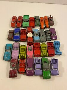 Lot of Vintage Diecast Cars Vehicles Tootsietoy Midetoy & others