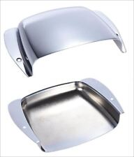 ASH TRAY - Precision Bass  - 89mm - BRIDGE COVER chrome pour guitare basse