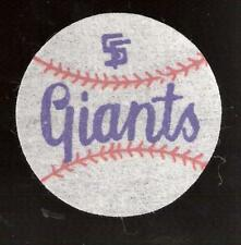 Original San Francisco Giants 2-Inch Diameter Linen Patch