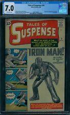 Tales of Suspense 39 CGC 7.0  1st Iron Man