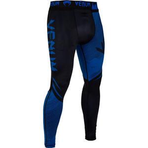 Venum No-Gi 2.0 MMA Compression Spats - Black/Blue