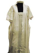 The Original Lace Co. England Lili Robe Dressing Gown Night Wear Ivory Liliiv