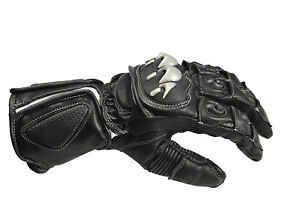 "Matador ""Knight"" - Men's Leather Motorcycle Sport Gloves"