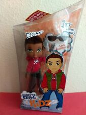 Boyz Boy Bratz Kidz Kid Dylan Doll Brown Hair Green Eyes Accessories New Rare