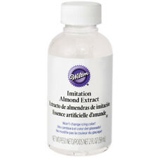 Wilton No-Color Almond Extract Certified Kosher 2 Oz. - 604-2126