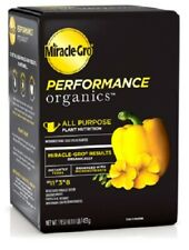 Scotts / Miracle-Gro Performance Organics, LB, 11-3-8, All Purpose Plant Food