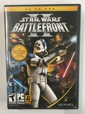 Star Wars Battlefront II PC CD-ROM Game 2006 LucasArts 5 Discs Plus Key Code