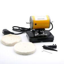 Dental Bench Polisher Lathe Quietly Motor Grinding Machine Laboratory Polishing