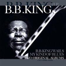 B.B. KING - B.B.KING WAILS/MY KIND OF BLUES 2 VINYL LP NEW!