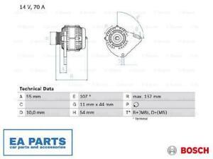 Alternator for FIAT LANCIA BOSCH 0 986 080 490