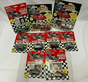 Lot /9 CARS RACING CHAMPIONS 91 93 94  EDITION NASCAR DIE CASE ORIGINAL PACKAGE