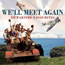 We'll Meet Again - 50 Wartime Favourites 2CD NEW/SEALED