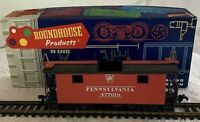 Vintage Roundhouse HO Scale Pennsylvania Cupola Caboose 3471 Partially Assembled