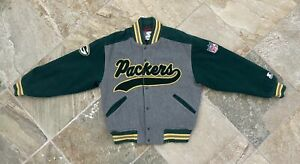 Vintage Green Bay Packers Starter Tailsweep Football Jacket, Size Medium