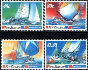 (Ref-15961) New Zealand 1987 Yachting Events  SG.1417/1420 Mint (MNH)