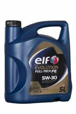 ELF EVOLUTION FULLTECH FE 5w-30 5 LITRI OLIO MOTORE RENAULT rn0720