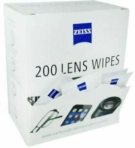Zeiss Lens Cleaning Wipes Pre Moist Sachets 400 Pack Wipes GLASSES Optical SmeaR