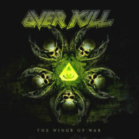 Overkill die Wings Of War (2019) 10-track CD Album Neu/Verpackt Cd-Hülle