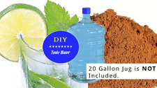 Tonic Water DIY Kit (3 Unique Flavors!) **Make 42 Liters!** W QUININE DRINK MIX!