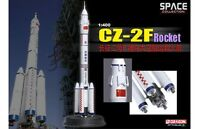 Space Rocket Chinese CZ-2F Heavy Lift Rocket Spacecraft 1:400 Plastic Model Kit