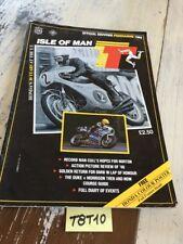 Isle of Man Tourist Trophy 1989 Tt Program Official Racing Motorbike Route Iomtt