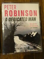 Peter Robinson  A Dedicated Man  read by Neal Pearson   2 Cassette Audio Book
