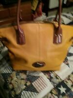 GUC DOONEY & BOURKE  Large Domed Leather Satchel