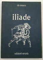 Libro Iliade Omero Edizioni Etruria 1971 Fumetto Poema Greco Libri Fumetti