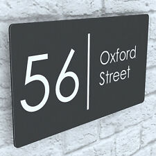 More details for floating house signs plaques door numbers 1 - 999 personalised name plate