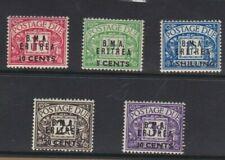 1948 Eritrea British SG ED 1/5 MUH Set 5
