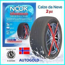 CALZE DA NEVE NORVEGESI 215/45/16 Alta qualità VW POLO 6R 6C ghiaccio 600