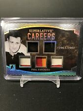 2017 In The Game Superlative Phil Esposito Careers Patch 1/2!