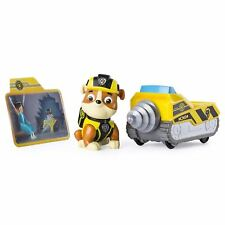 Paw Patrol Mission Paw - Rubble's Mini Miner - Figure and Vehicle