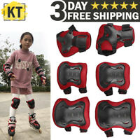 Kids Knee Elbow Pads Guards Protective Safety Gear Set Roller Skate Cycling Bike