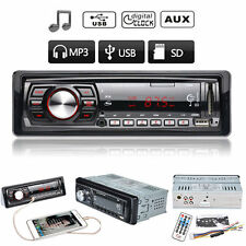 Auto In-Dash Car Stereo Audio FM Aux Input Receiver SD USB MP3 WMA Radio Player