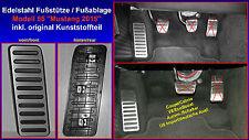 Ford Mustang Fußstütze Fußablage Blende Pedal Footrest 6 VI alle Modelle NEU