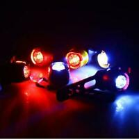 Flashing Bike Bicycle LED Rear Safety Light Warning Tail Lamp Waterproof To F6T9