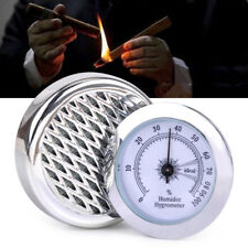 5.5cm Zigarren Hygrometer Befeuchter Tabak Befeuchter Runde Zigarren Humidor Neu