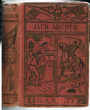 "JACK ARCHER,G A HENTY[910-1915]M A Donohue~""FEDERAL CO""~VTG-AMERICAN[PIRATE]GOOD"