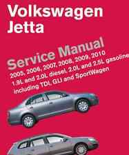 2005 2006 2007 2008 2009 2010 Volkswagen Jetta Service Shop Manual NEW